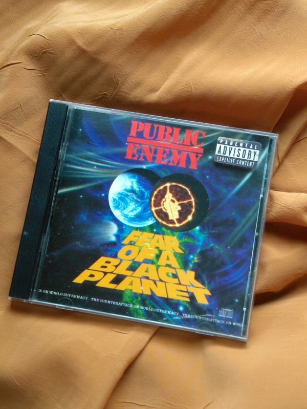 Cd - Original - Public Enemy - Fear Of A Black Planet - Produto para Teste